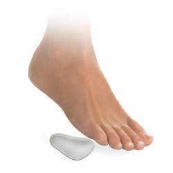 Metatarsal pads – right and left white