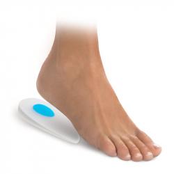 116 Asymmetrical gel heels