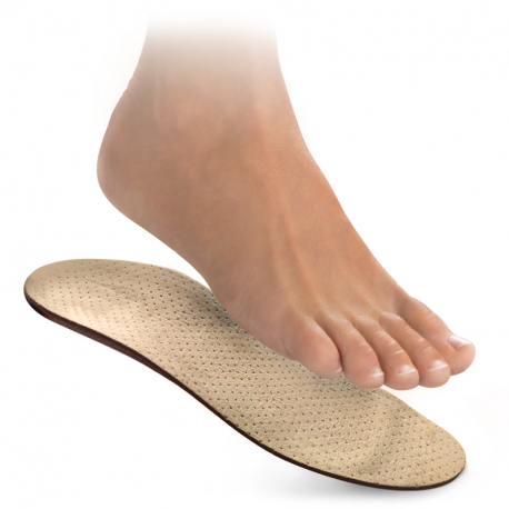 Orthopedic insoles for lengthwise arch