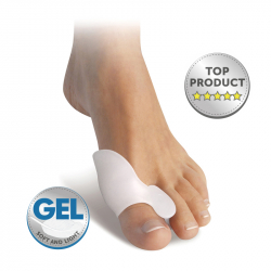 Gel spreader with thumb protector