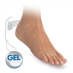 Self-adhesive gel antislips