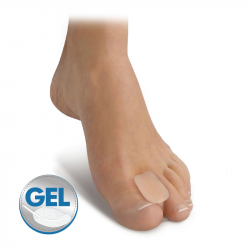 Gel flat toe spreader