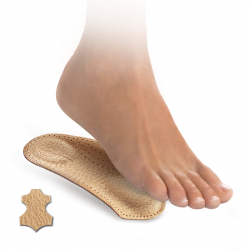 3/4 skelet insoles ladies