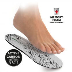 057 Antibacterial insoles with memory foam