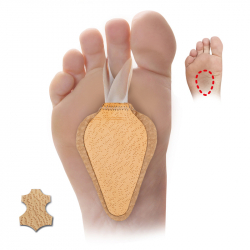 Suspension metatarsal pads