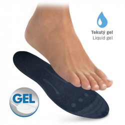 Gel massage insoles