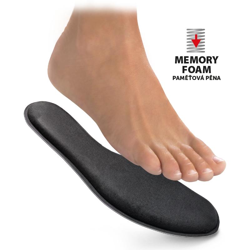 Memory foam insoles