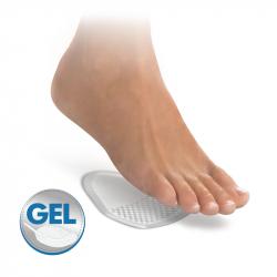 Self-adhesive gel tips