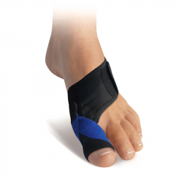 028 Hallux valgus bandage with gel toe protector