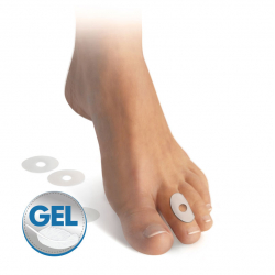 Self-adhesive gel ring
