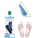 3/4 gel insoles with metatarsal pads